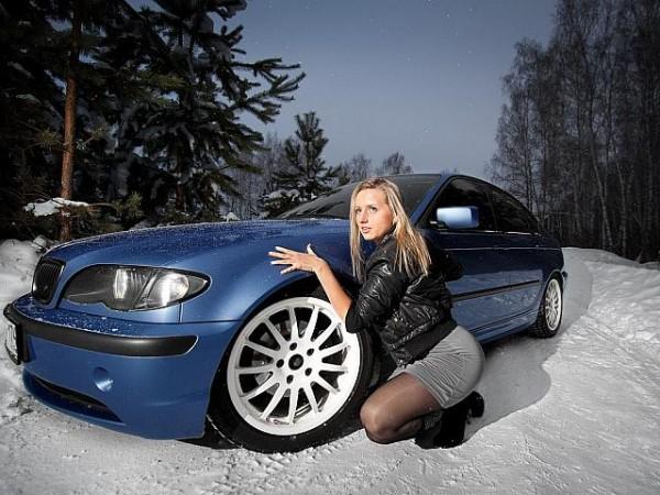 Sexy Blonde Girls & Hot Cars