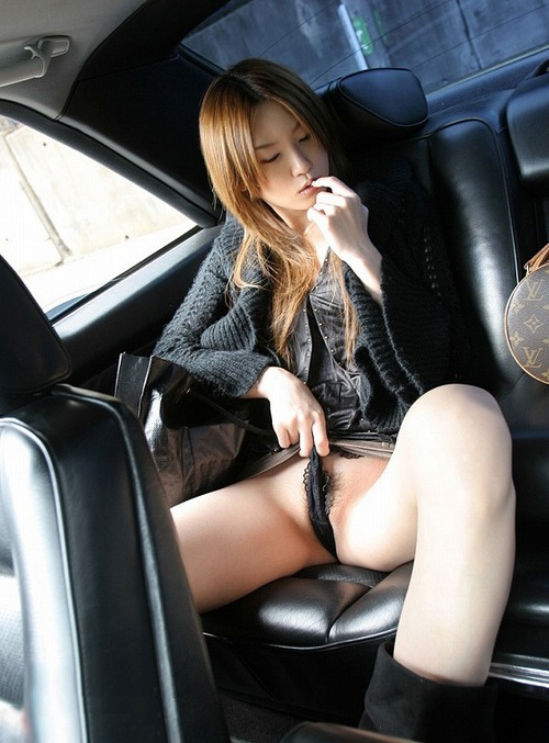 Hot Amateur Girls in Cars