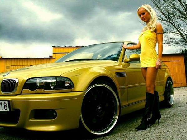 BMW & Sexy Girl