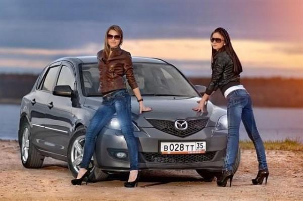 Sexy girls & Mazda