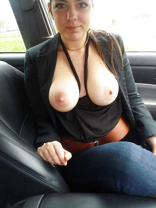 Amateur pussy flashing in car matchless