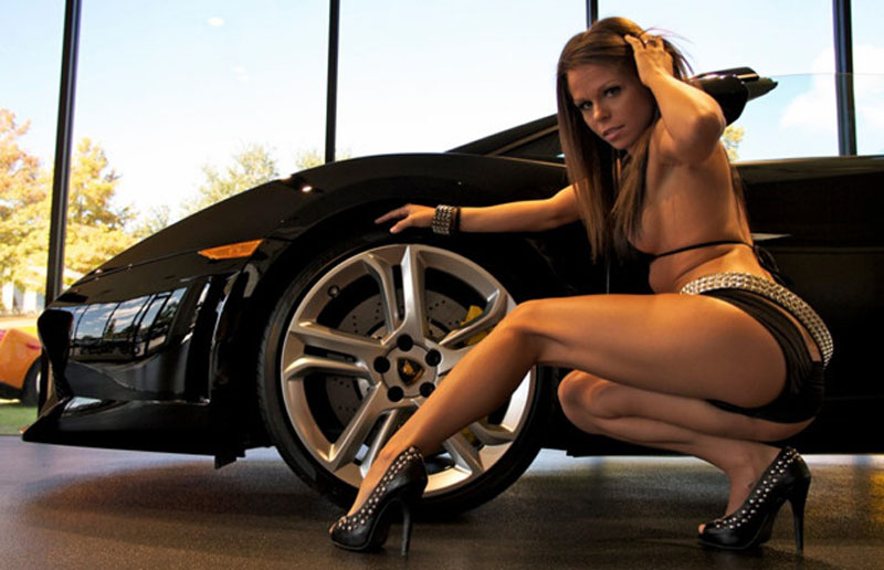 Sexy Girls & Lamborghini