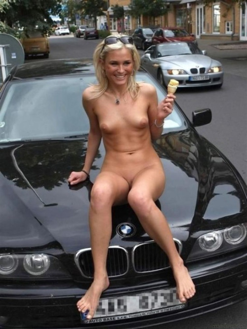 Naked Sexy Girls & BMW