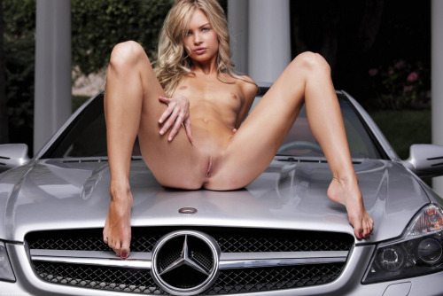 Sexy Naked Girls & Mercedes