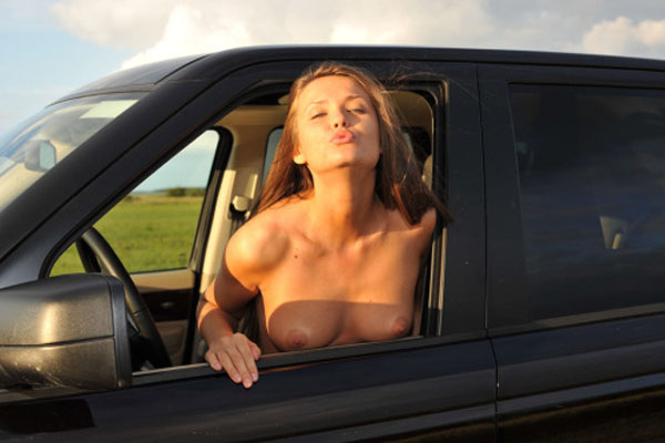 Naked Girls with Cars