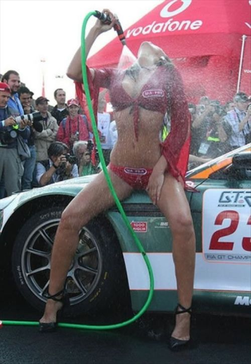 Sexy Car Wash Girls