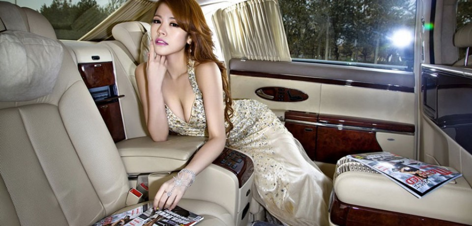 Sexy Asian Girl & Maybach