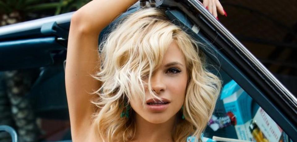 Hot girl Dani Mathers posing with cars