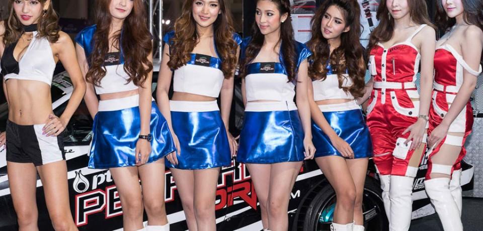 Sexy Asian Girls At Bangkok International Auto Salon 2015 08