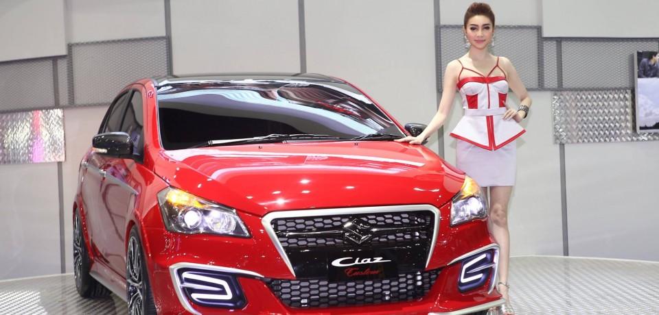 Sexy Asian Girls At Bangkok International Auto Salon 2015 13