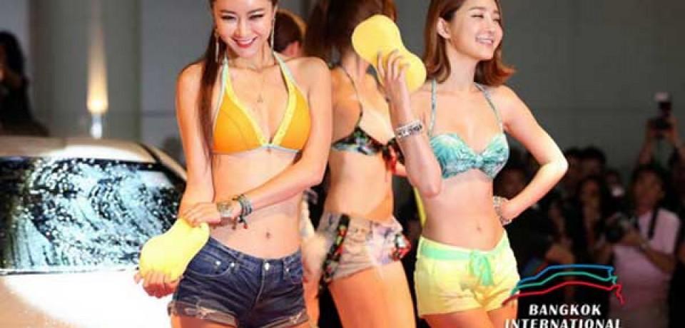 Sexy Asian Girls At Bangkok International Auto Salon 2015 19