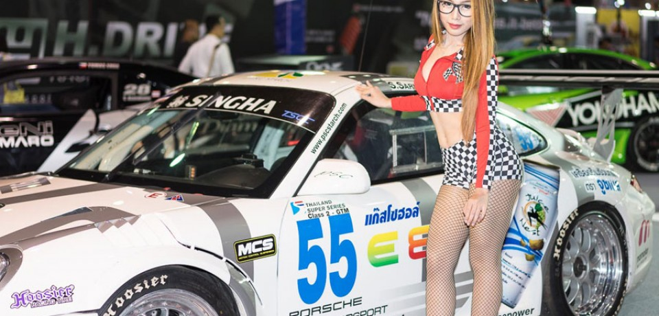 Sexy Asian Girls At Bangkok International Auto Salon 2015 23
