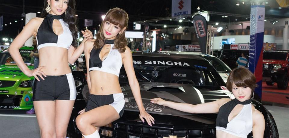 Sexy Asian Girls At Bangkok International Auto Salon 2015 24