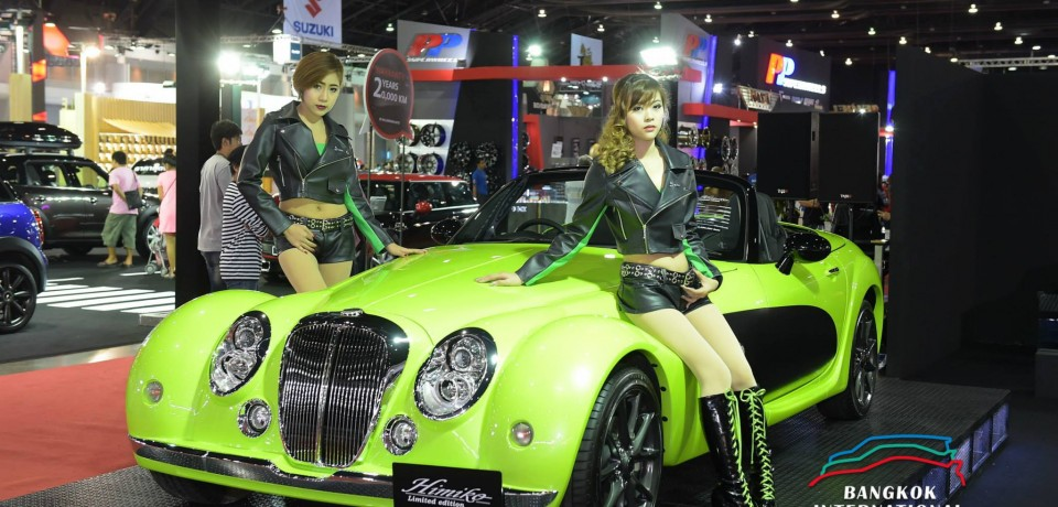 Sexy Asian Girls At Bangkok International Auto Salon 2015 27
