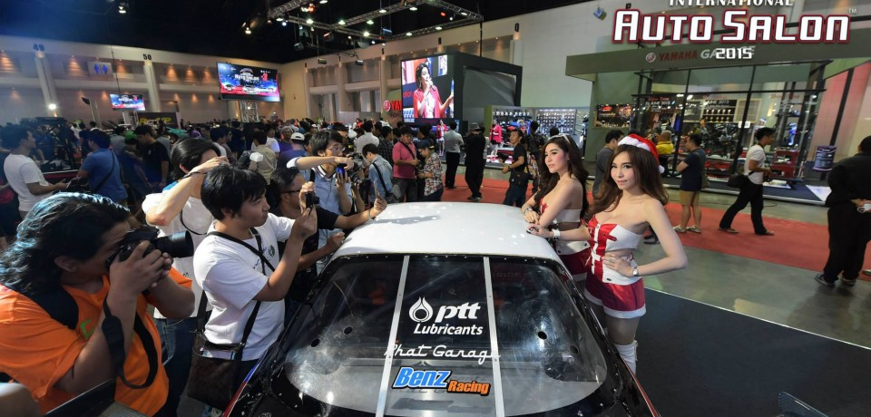 Sexy Asian Girls At Bangkok International Auto Salon 2015 29