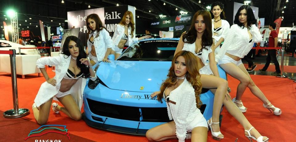 Sexy Asian Girls At Bangkok International Auto Salon 2015 35