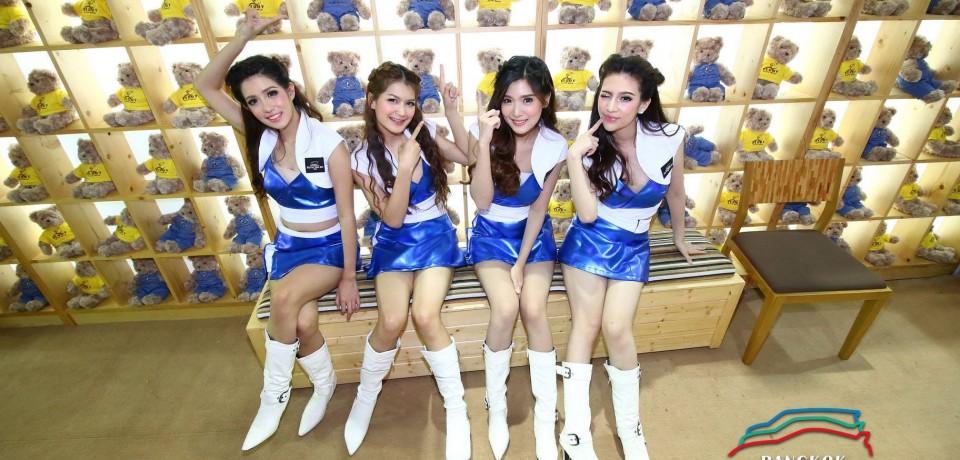 Sexy Asian Girls At Bangkok International Auto Salon 2015 36