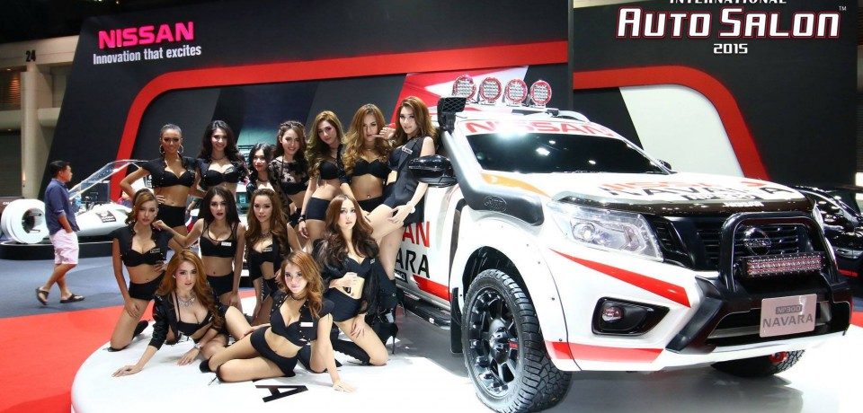 Sexy Asian Girls At Bangkok International Auto Salon 2015 38