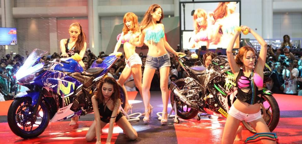 Sexy Asian Girls At Bangkok International Auto Salon 2015 47