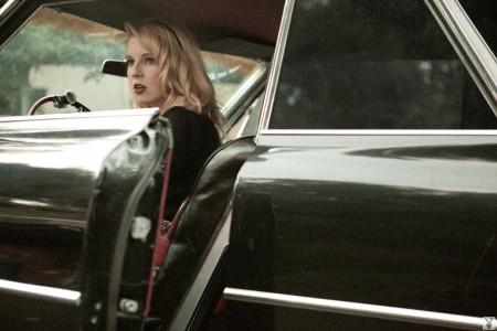 Playboy Cybergirl Sharon Marie & Cadillac